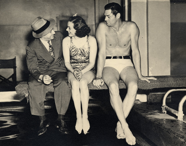 Rose, Holm, and Weissmuller, 1937
