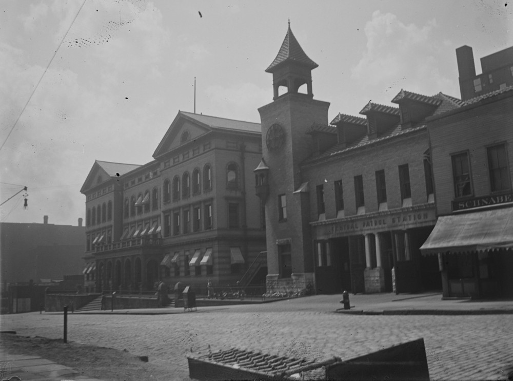 Central Police Station on Champlain  Avenue - 1902