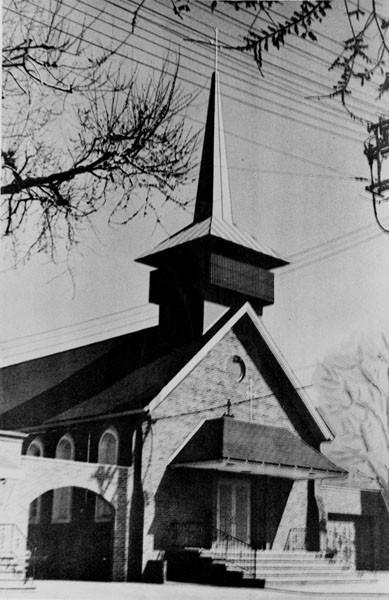 St. Helena's After Modernization, 1966