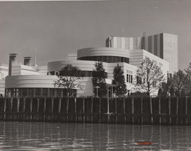 View from Lake, 1936
