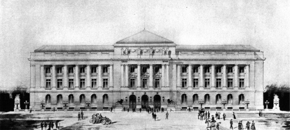 City Hall Rendering, 1907