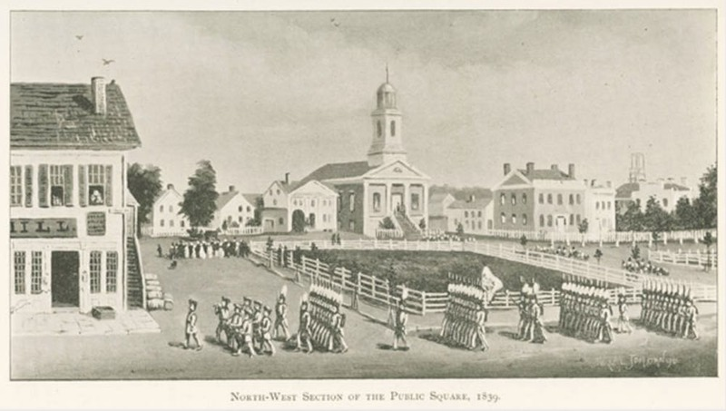 Grays on Public Square, 1839