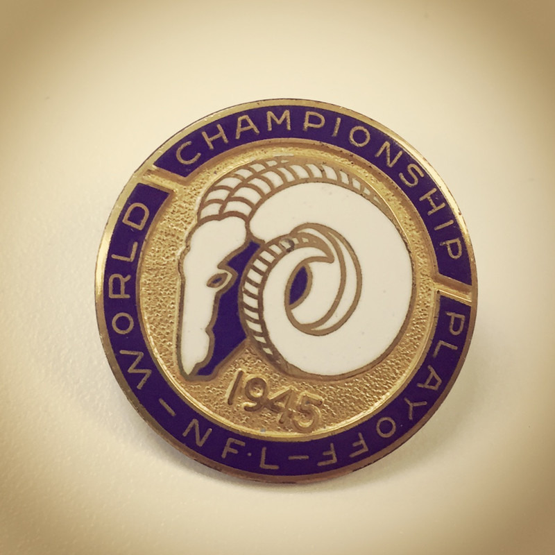 Cleveland Rams Pin