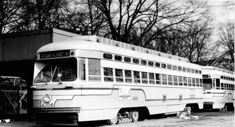 Cleveland Transit Car 4208