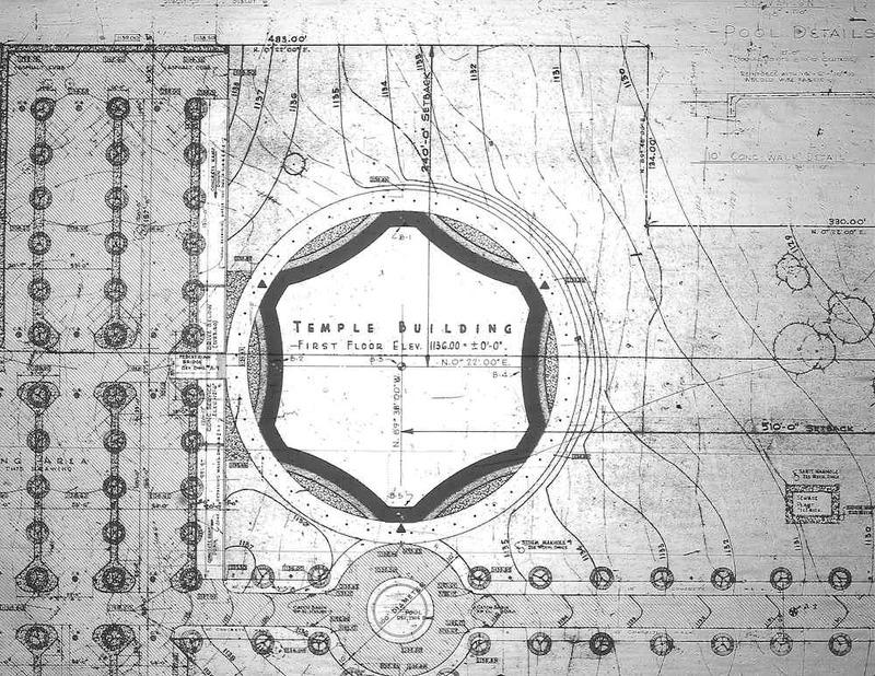Brith Emeth Temple Plan, 1966