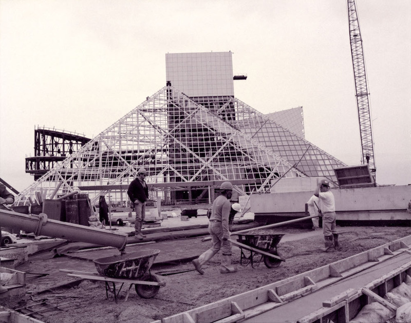 Rock Hall Under Construction, 1994