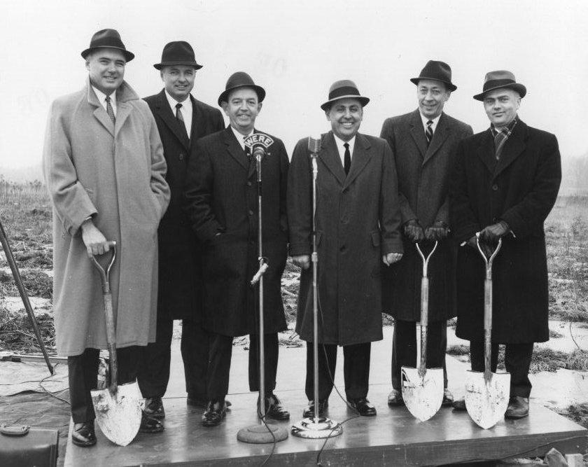 Groundbreaking Ceremony, 1962