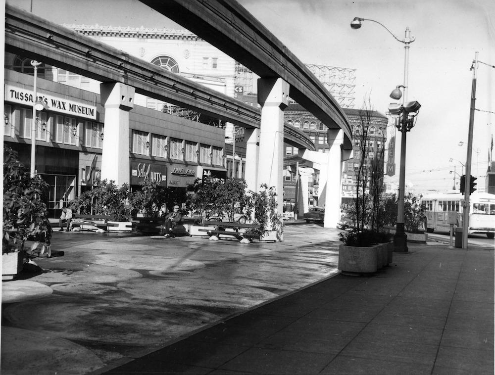 Seattle Monorail, 1963