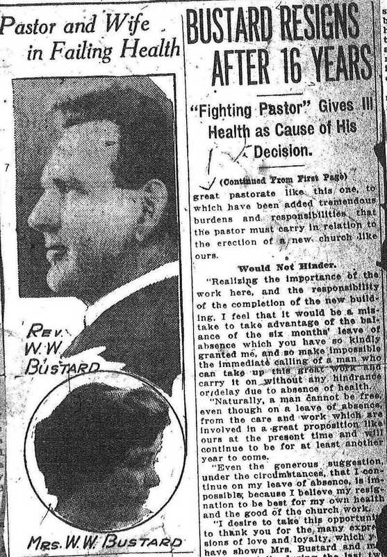 The Fighting Pastor.