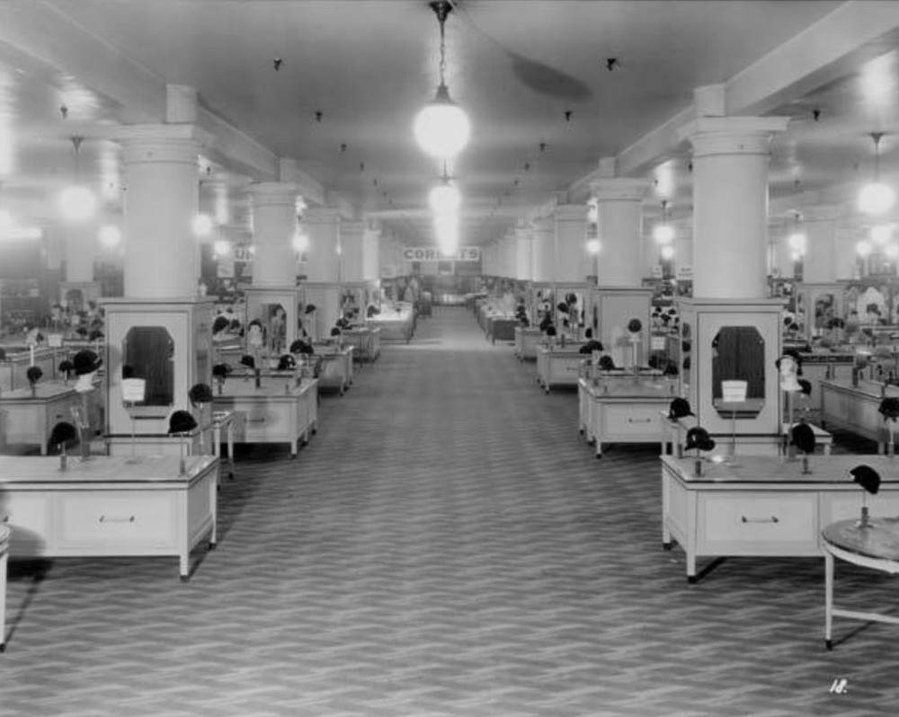 Millinery Department, 1931