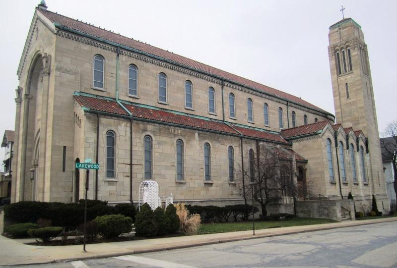 A new Catholic church for Birdtown Slovaks.
