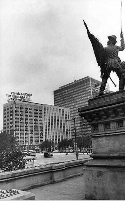 West Face sof Public Square, 1967