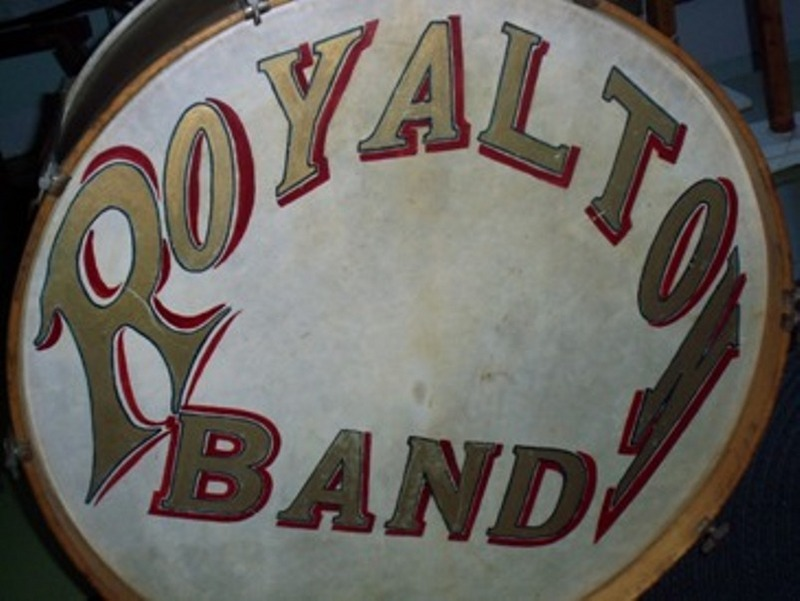 Royalton Township Band Drum