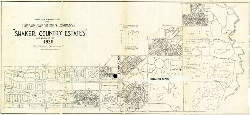 Plan for Shaker Country Estates, 1926