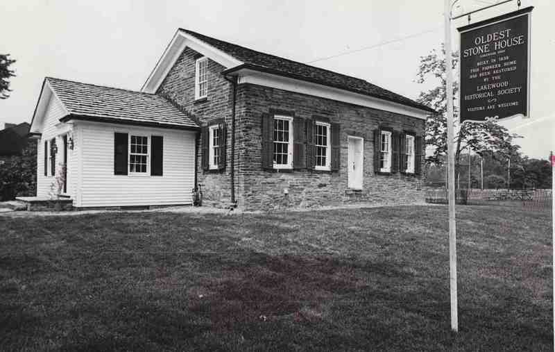 Oldest Stone House, 1975