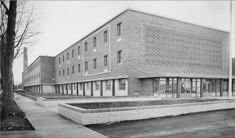 New Glenville High School, 1966