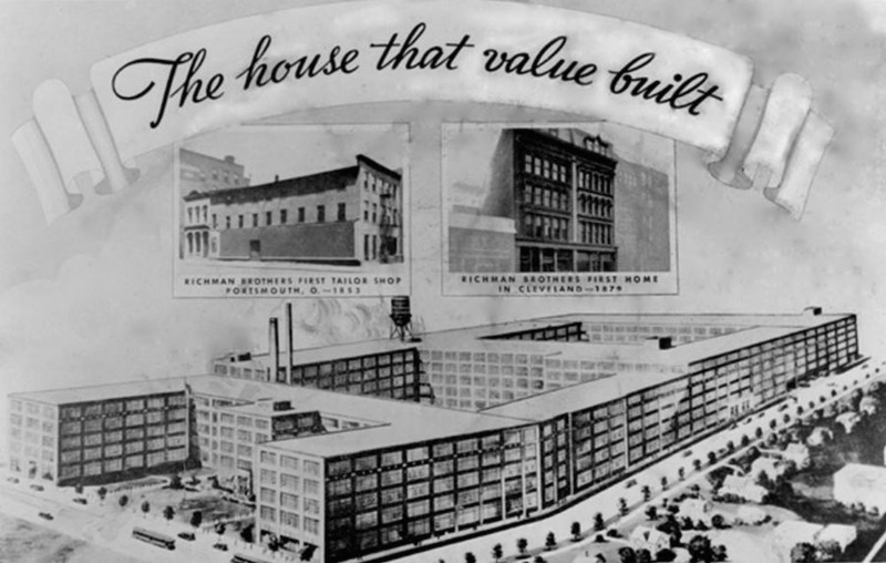 Richman Factory Drawing, ca. 1930s