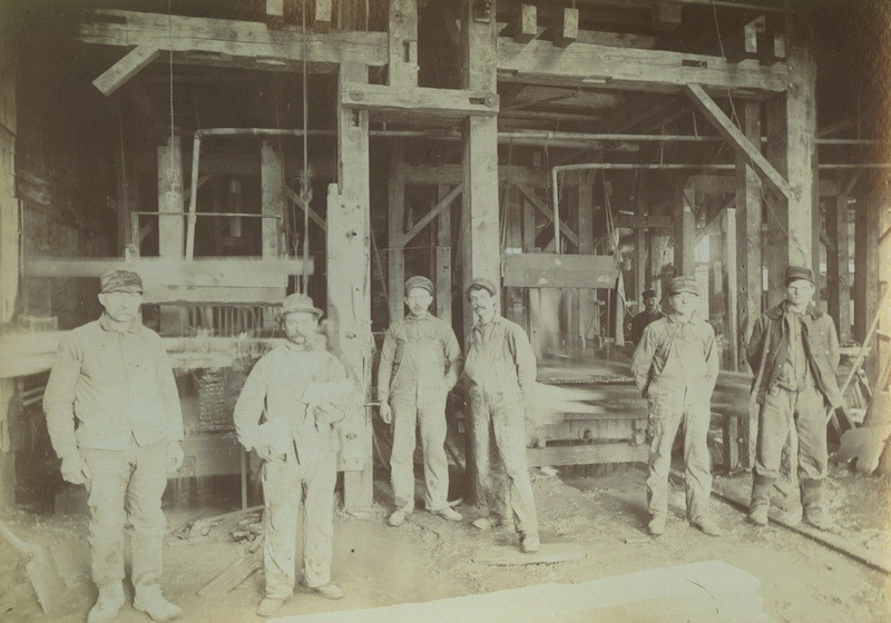 Deerlick Oil Stone Company Factory, 1909