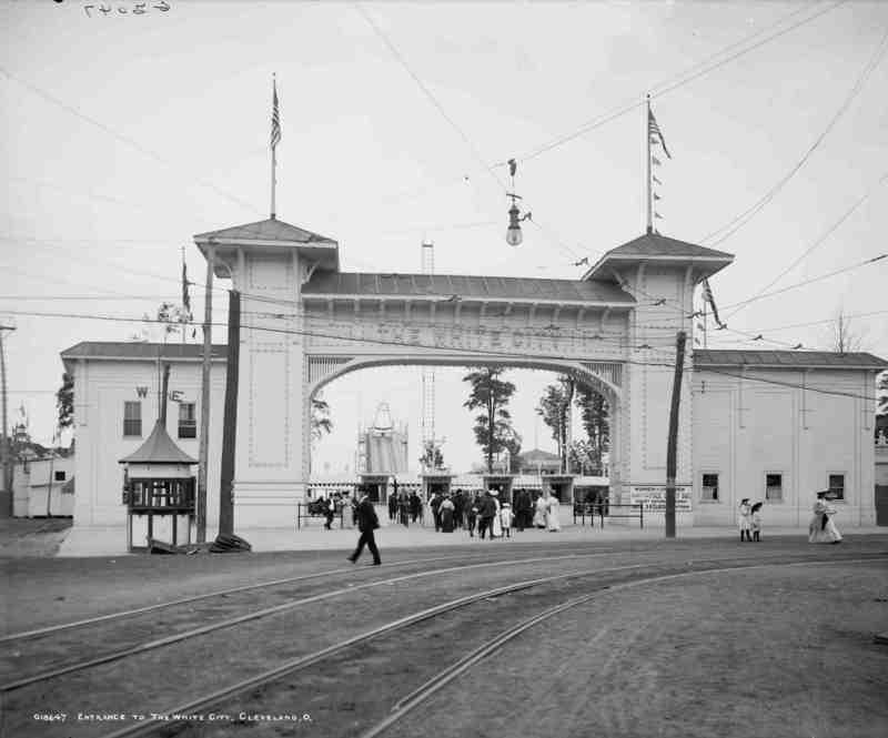 Entrance, 1905