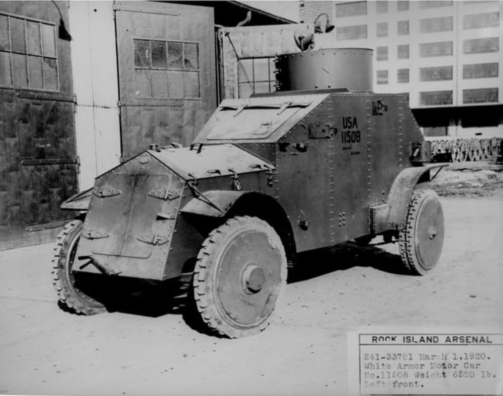 White Armor Motor Car