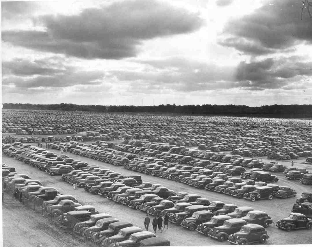 Parking Lot, 1937
