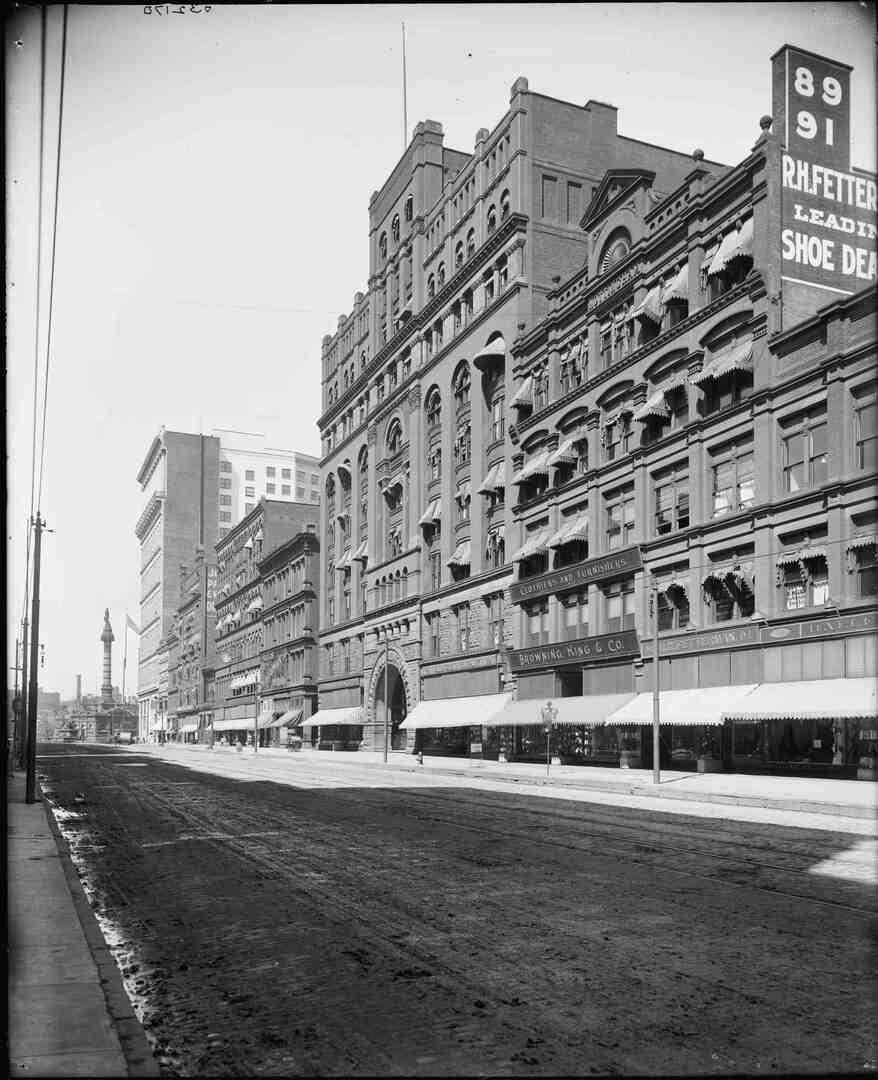 South Face of Arcade, Ca. 1900