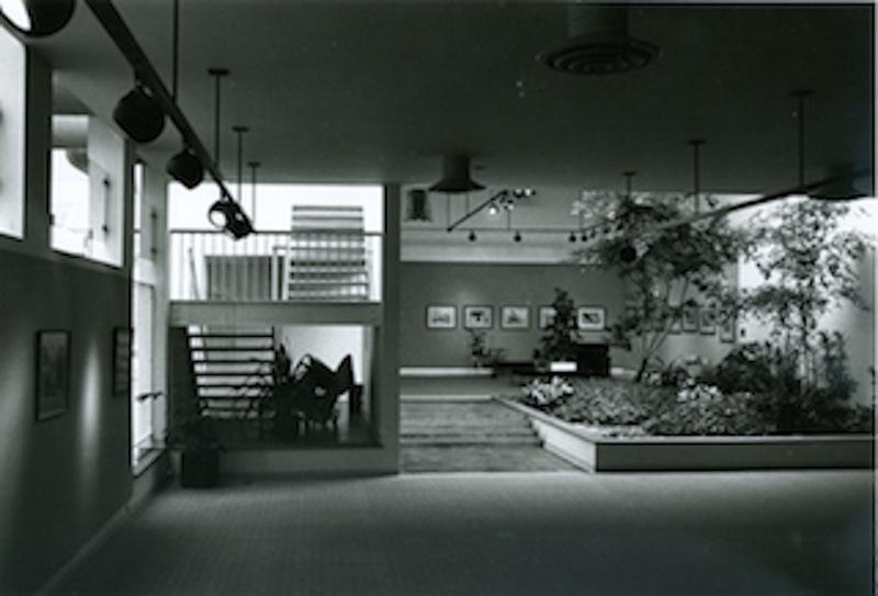 Interior Atrium, 1976