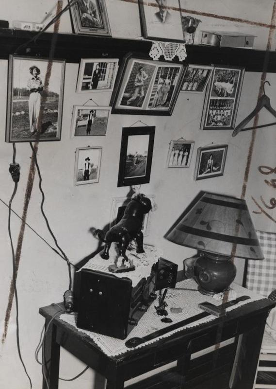Velma's Desk at the Ohio Reformatory for Women at Marysville, 1939