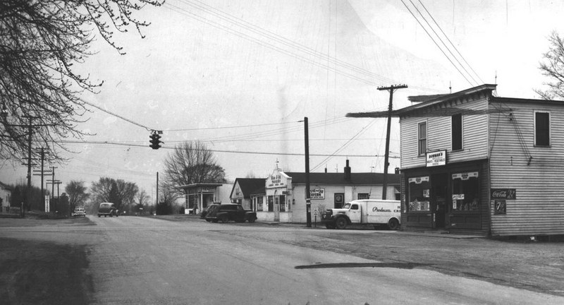Former Searles Store, 1949