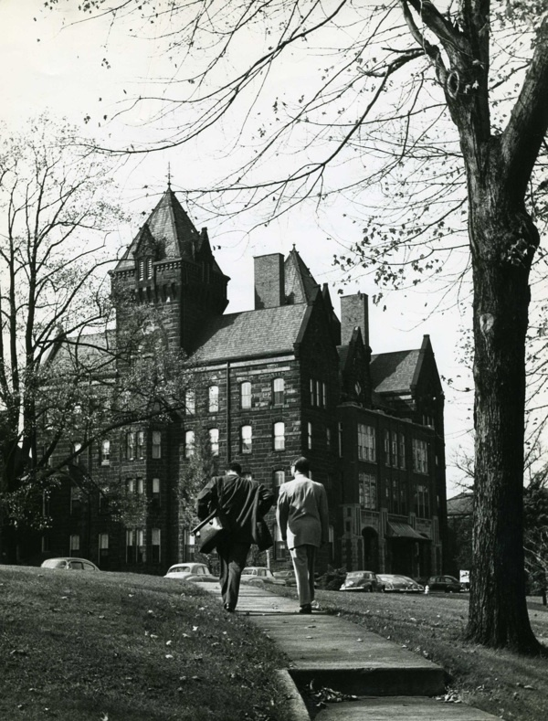 Al Ostrow at Cleveland State Hospital