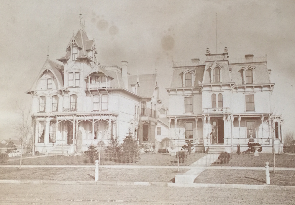 Lawson & Sessions Houses, Ca. 1900