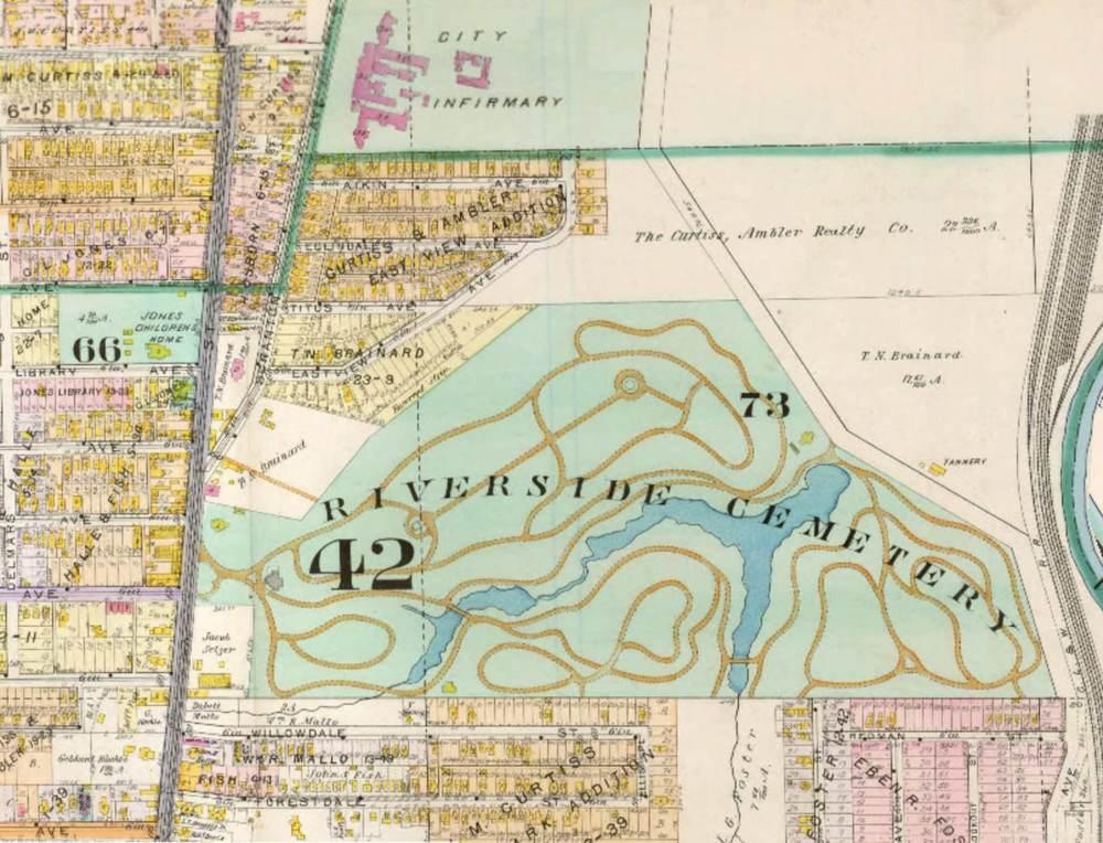 Detail of 1898 Atlas