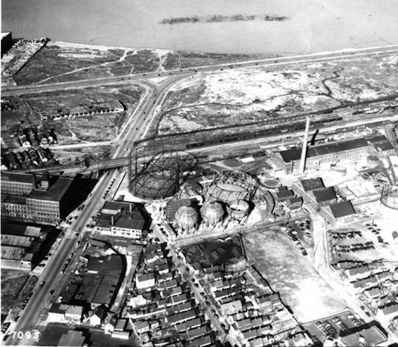 Aerial View of East Ohio Gas Company