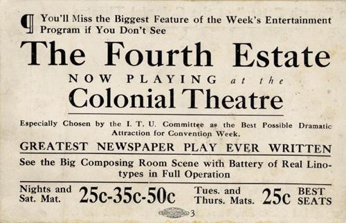 Summer Ticket, 1910