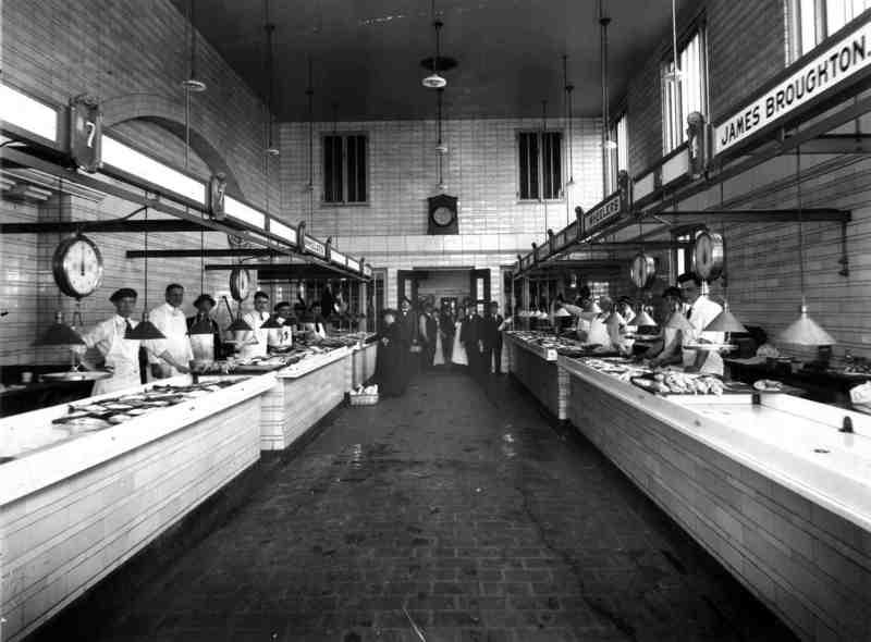 Fish Stalls, ca. 1920s