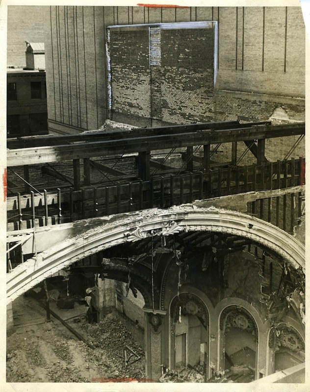 Demolition of the Colonial, 1932