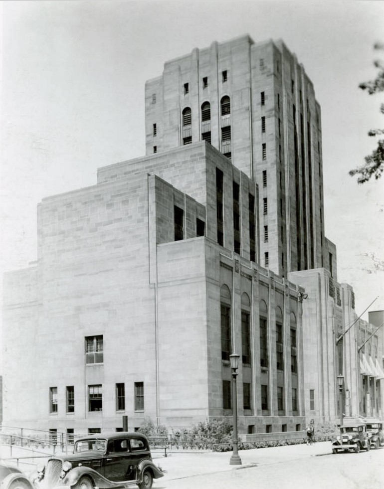 County Criminal Courthouse and Jail - circa 1935