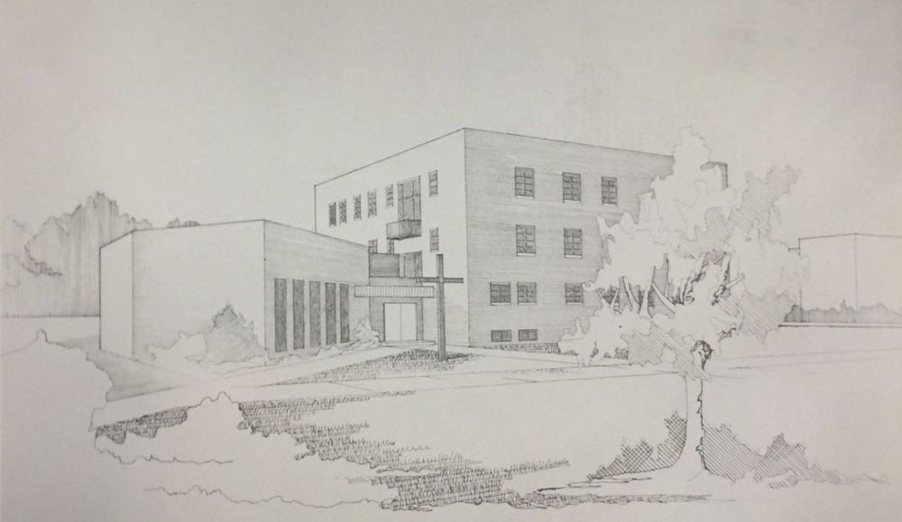 Design plans for new chapel