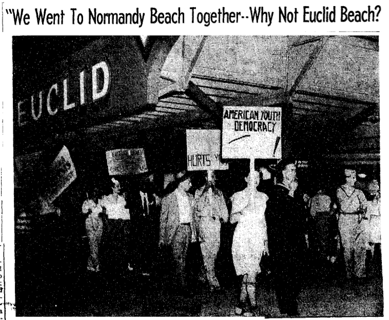 Picket Line, August 1946