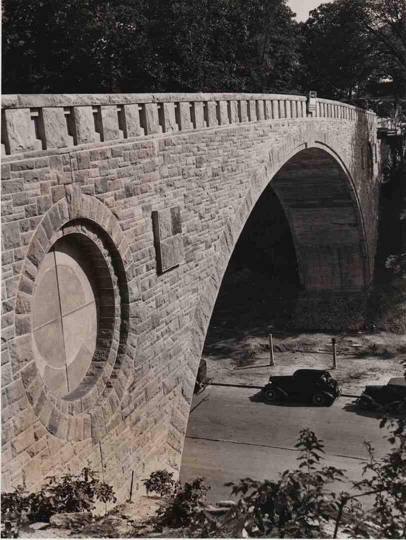 Completed Bridge, 1940