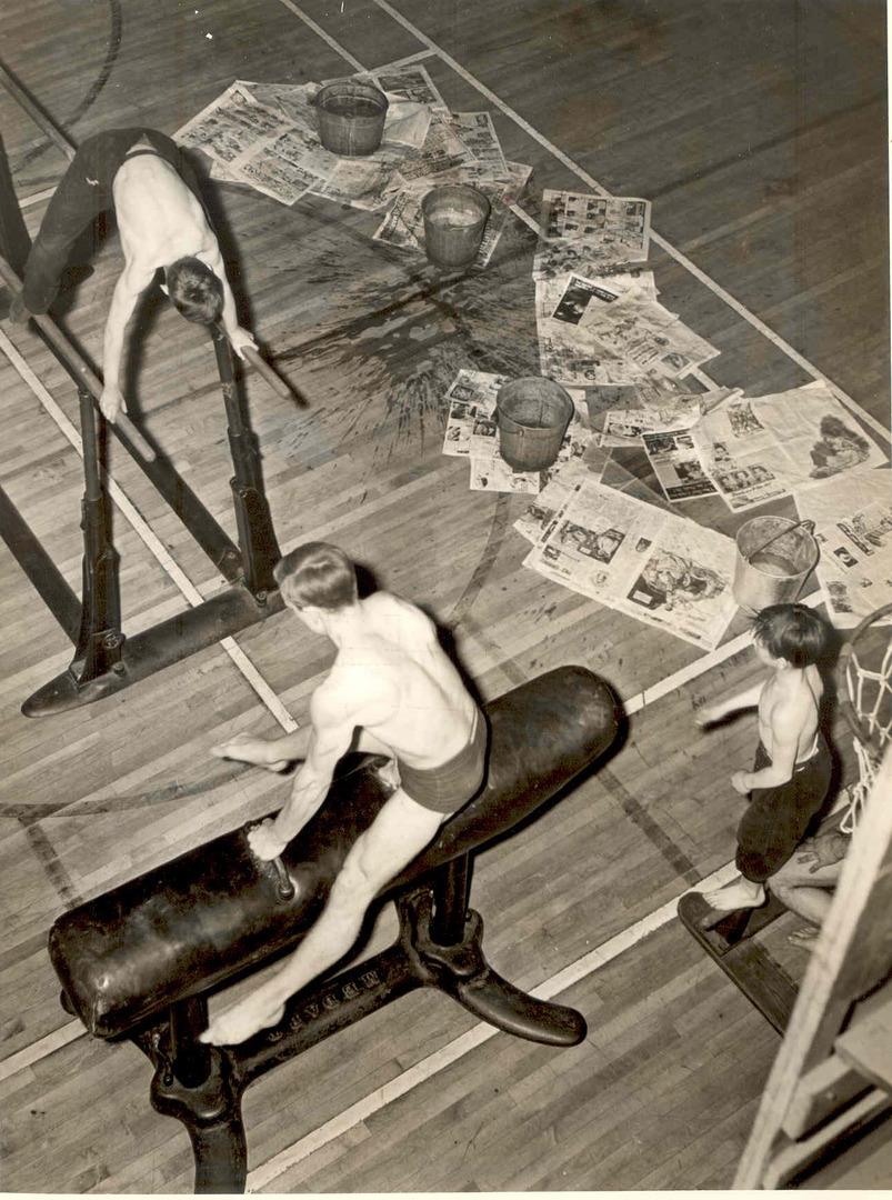 Clark Avenue Bath House Gym, 1939