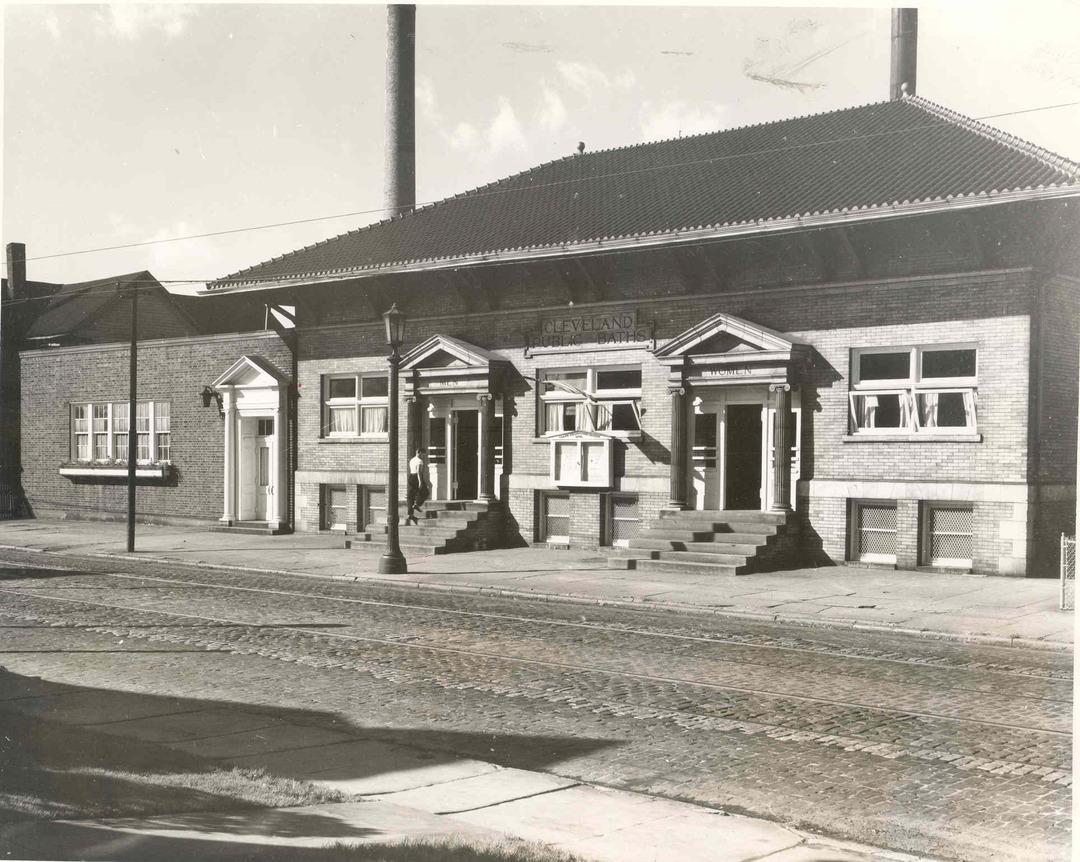 Clark Avenue Bath House, ca. 1930s