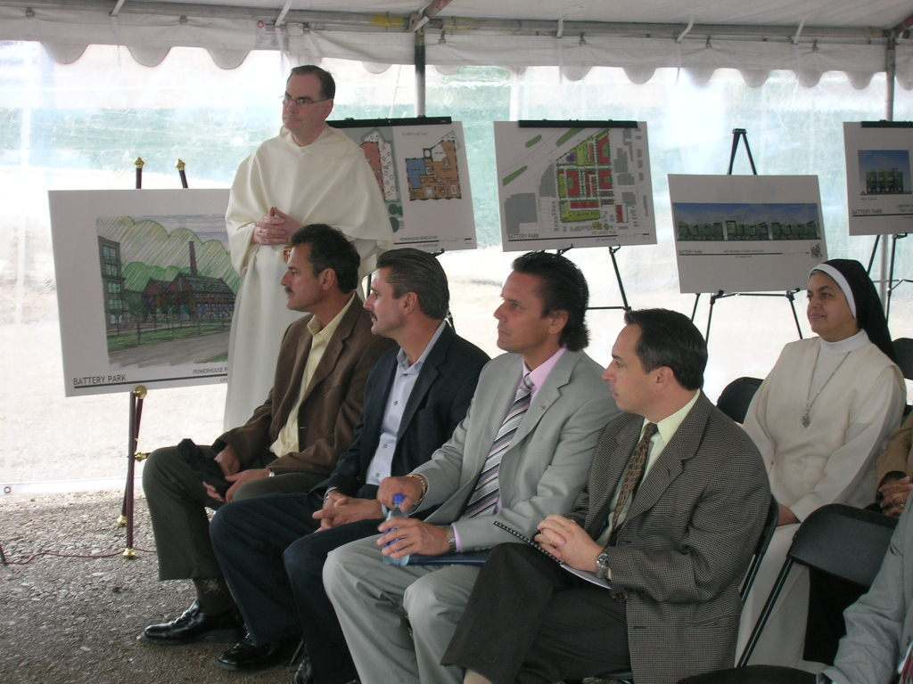 Battery Park Groundbreaking