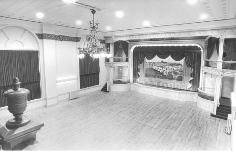 Aerial view of Ballroom