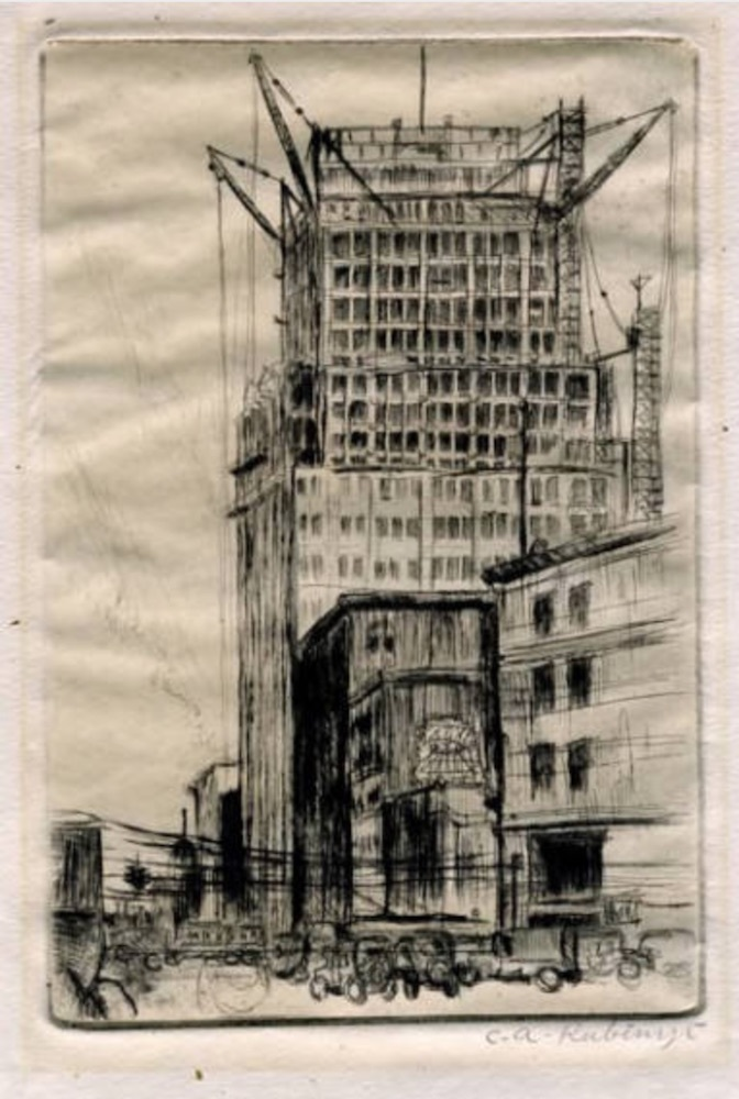 Sketch of Construction, 1926