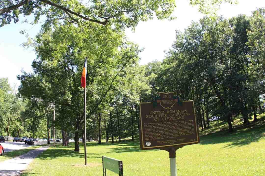 Carpatina Society Historical Marker