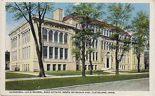 Cathedral Latin School Postcard