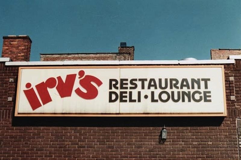 Irv's Sign, 1982