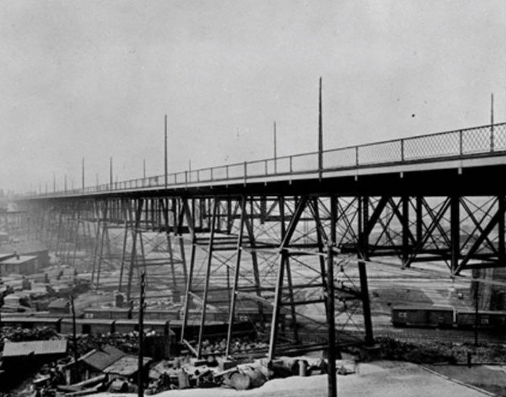 Abbey Avenue Viaduct, ca. 1888