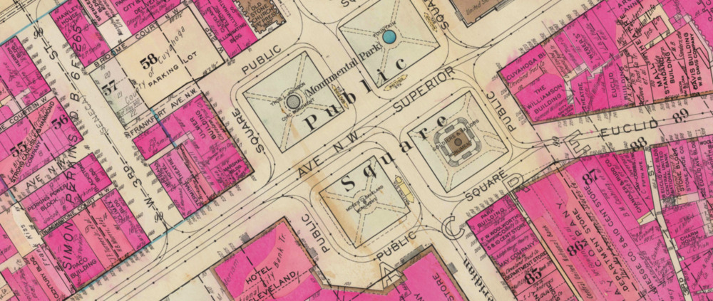 1930 Rouse Block Map